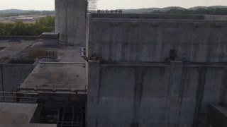Dramatic Reveal Abandoned Nuclear Power Plant Reactor With Vultures 001