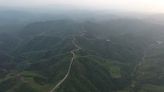 Flying High Over Great Wall Of China 002