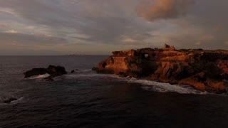 Mexico Sunrise Island Coast Mayan Temple 02 Orbit