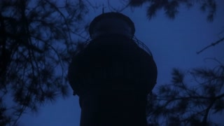 Outer Banks Romantic Brick Lighthouse Night Slow Motion 002 Medium