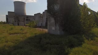 Rising Above Abandoned Nuclear Power Plant 002