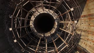 Spinning Over Abandoned Nuclear Reactor Swarming With Vultures 001