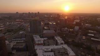 Sunrise Over Nashville Skyline