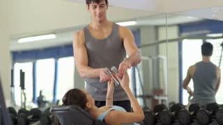 15of27 People training in fitness club, gym and sport activity