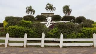 2-Flower Clock Cinta Costera Avenida Balboa Panama