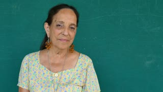20 Hispanic Old People Portrait Serious Senior Woman Face Expression