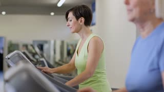 26of27 People training in fitness club, gym and sport activity
