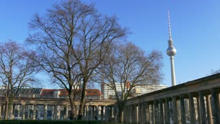 3 Berlin German City Germany Europe Winter View Landscape Buildings