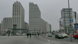 5 Berlin German City Germany Europe Winter View Landscape Square Potsdamer Platz