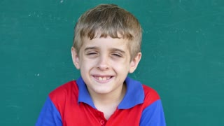 58 White Children Portrait Happy Young Boy Smiling At Camera