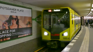 6 Berlin German City Germany Europe Subway Underground Train Station