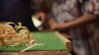 9-Boy Learns Crafting Wood In Lute Maker Shop