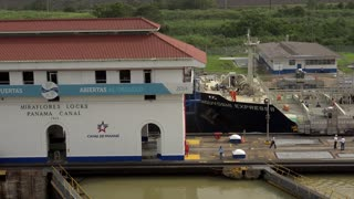 Cargo And Logistics Panama Canal Miraflores Locks-12