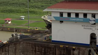 Cargo And Logistics Panama Canal Miraflores Locks-13