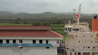 Cargo And Logistics Panama Canal Miraflores Locks-15