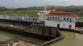 Cargo And Logistics Panama Canal Miraflores Locks-16