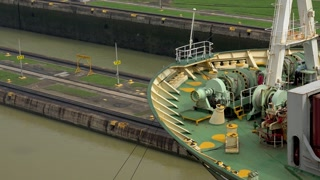 Cargo And Logistics Panama Canal Miraflores Locks-1