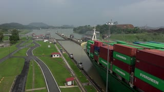 Cargo And Logistics Panama Canal Miraflores Locks-2