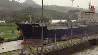 Cargo And Logistics Panama Canal Miraflores Locks-4