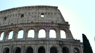 Colosseo Coliseum Colosseum Ancient Roman Monument In Rome Roma Italy