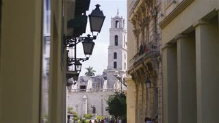 Cuba, Havana, Plaza San Francisco, statue, monument