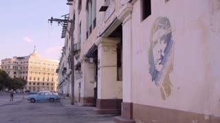 Cuba, La Habana, Havana, Che Guevara painting, graffiti on wall