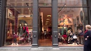 Dolce Gabbana Shop Store Fashion Shopping Milan Milano Italy Italia