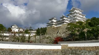 Himeji Castle, a hilltop Japanese castle complex located in Himeji, Hyogo Prefecture, Kansai, Japan, Asia. Asian monument, landmark, building, UNESCO World Heritage Site