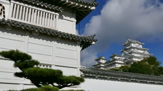 Himeji Castle, a hilltop Japanese castle complex located in Himeji, in Hyogo Prefecture, Kansai, Japan, Asia. Asian monument, landmark, building, UNESCO World Heritage Site