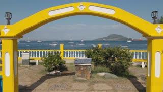 Isla Taboga Panama Central America View Of Sea And Boats