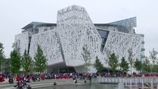 Italian Pavilion Milan Milano Expo 2015 Italy International Exposition Exhibition