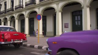 La Habana Cuban Urban Landscape Classic Cars In Havana Cuba