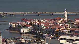 Panama City Casco Antiguo Viejo And Avenida Balboa 4K