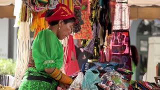 Panama City, Panama - 20 January 2015 - Tourist Market In Casco Antiguo