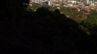 Panama City, Panama - January 10, 2015: View Of Obarrio Bank District In 4K