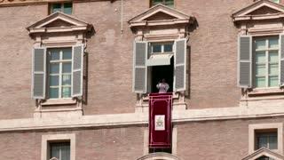 Pope Francis Angelus Sunday Prayer Vatican Rome Roma Italy Italia