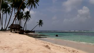 San Blas Islands Panama Sea Ocean Beach Paradise Palm Trees