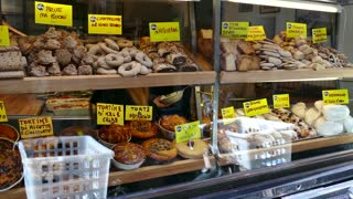Shop Bakery Bread Cakes Food Rome Italy Mediterranean Diet