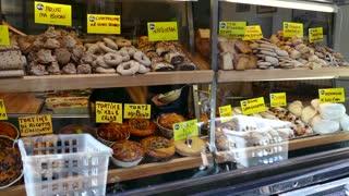 Shop Bakery Bread Cakes Food Rome Italy Mediterranean Diet