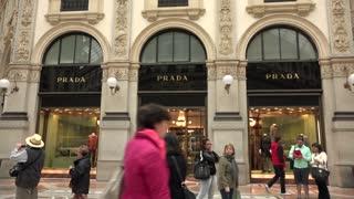 Shopping Prada Shop Store Italian Fashion Milan Milano Italy Italia