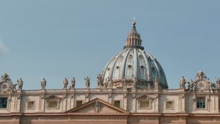 St Peter Basilica Square Vatican City Rome Roma Italy Sky
