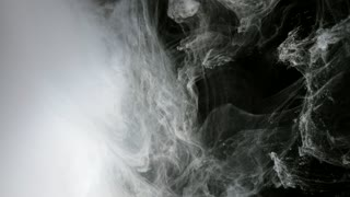 Abstract Background White Paint In Water As Smoke