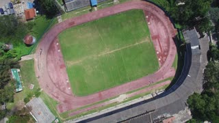 Aerial View Of Havana Cuba City With Sports Stadium