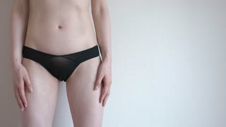 Young asian pantie model, gloryhole creampie eater