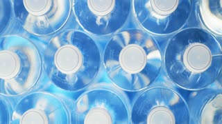 Dolly Shot Plastic Bottles For Recycling And Energy Saving