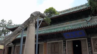 Fuxi Temple (Fuxi Miao) in Tianshui, Gansu province, China, Asia. Old monument and traditional religion