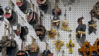 Gifts and presents for sale in souvenir shop of Fort Worth, Texas, United States of America