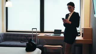 Manager Businesswoman Speaking With Phone Business Woman Talking On Telephone