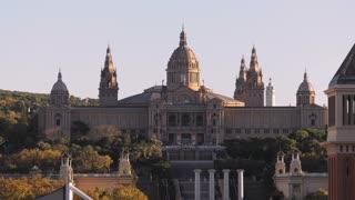 National Art Museum Museu Nacional De Catalunya In Barcelona