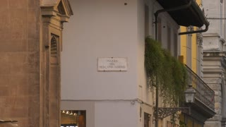 Piazza Del Mercato Nuovo In Florence Italy
